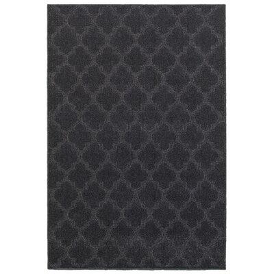 Lacon Blue Area Rug Rug Size: 52 x 76