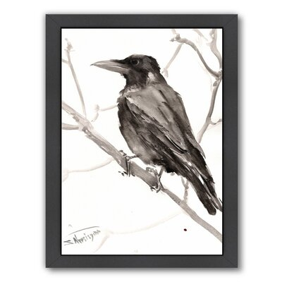 Raven Framed Painting Print