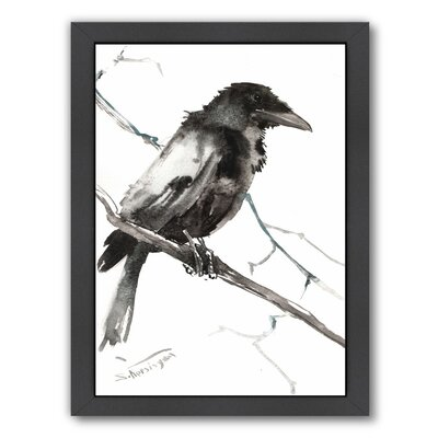 Raven 5 Framed Painting Print