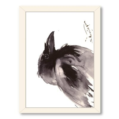 Raven 2 Framed Painting Print