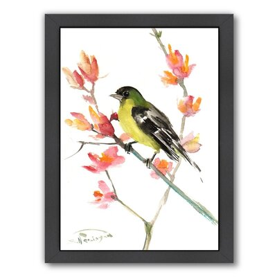 Goldfinch 3 Framed Painting Print