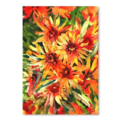 Blanket Flowers 1 Painting Print