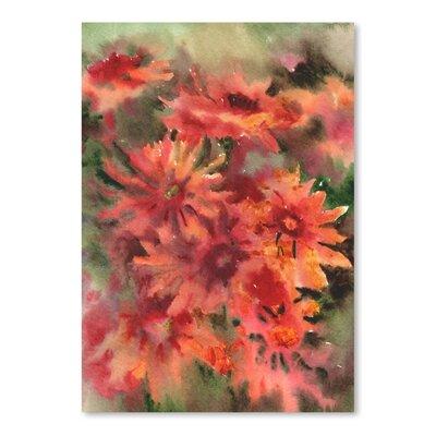 Blanket Flowers 3 Painting Print