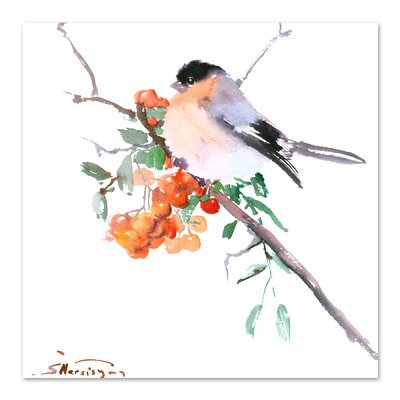 Bullfinch Square Painting Size: 10