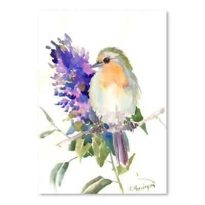 Robin Painting Print