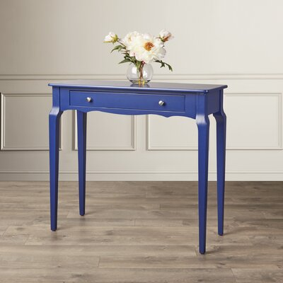 Fabius Console Table Color: Twilight Blue