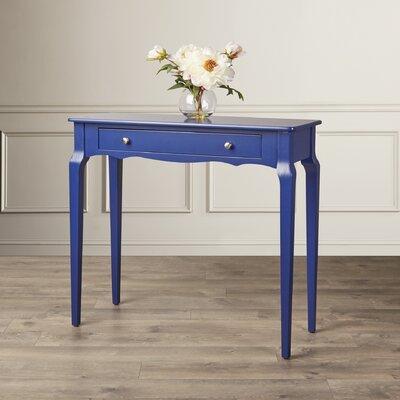 Fabius Console Table Color: Twilight Blue