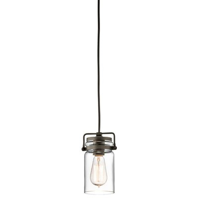 Bloomingdale 1-Light Mini Pendant Finish: Olde Bronze