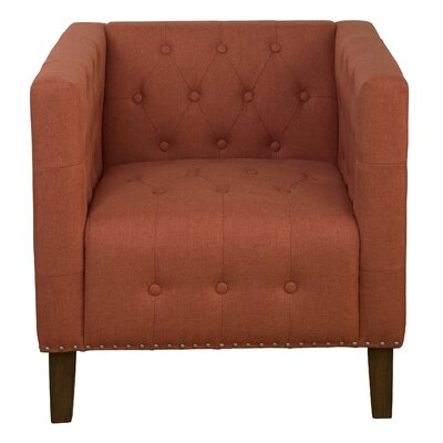 Cupps Armchair Color: Mango