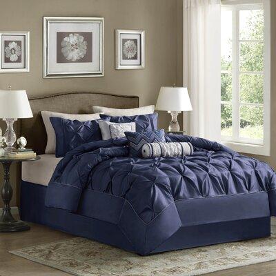 Isidore 7 Piece Comforter Set Size: California King