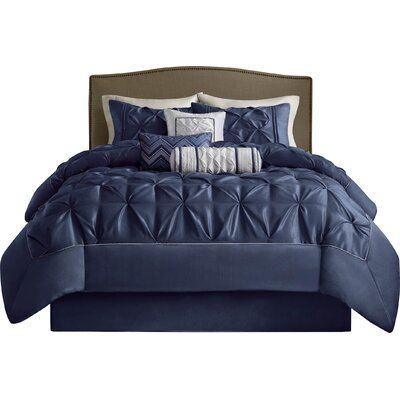 Isidore 7 Piece Comforter Set Size: King