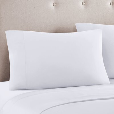 Ashbury Pillow Case Color: White, Size: King