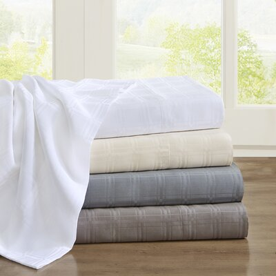 3 Piece Loraine Sheet Set Size: Full, Color: Blue