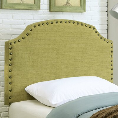 Coleshill Upholstered Panel Headboard Upholstery: Lemongrass, Size: King