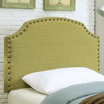 Coleshill Upholstered Panel Headboard Size: Full / Queen, Upholstery: Lemongrass
