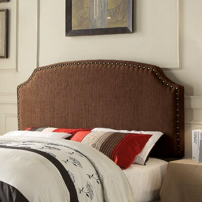 Coleshill Upholstered Panel Headboard Size: Full / Queen, Upholstery: Brown
