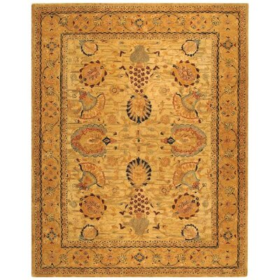 Ladd Ivory/Taupe Area Rug Rug Size: 3 x 5