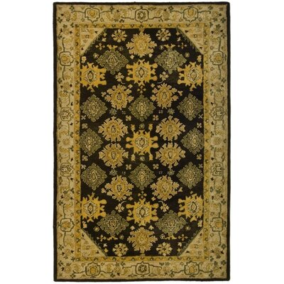 Ladd Brown/Ivory Area Rug Rug Size: Rectangle 5' x 8'