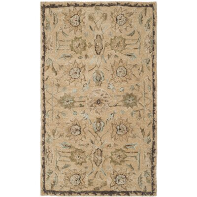 Ladd Tufted Wool Rug Rug Size: Rectangle 56 x 86