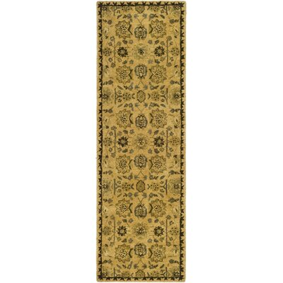 Ladd Tufted Wool Rug Rug Size: Runner 26 x 12