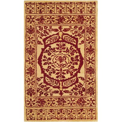 Ladd Wool Rug Rug Size: Rectangle 4 x 6