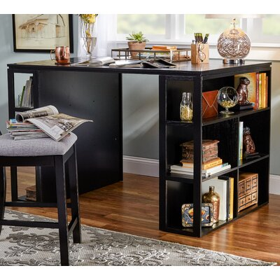 Bardsey Writing Desk Finish: Black