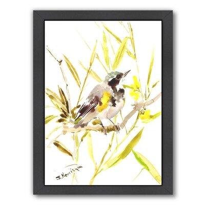 Warbler Framed Painting Print