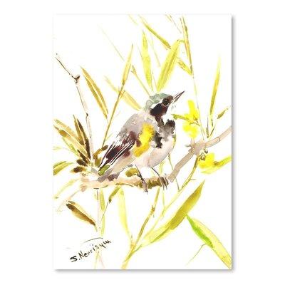 Warbler Painting Print
