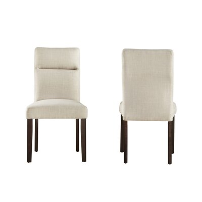 Eberhart Side Chair Finish: Beige