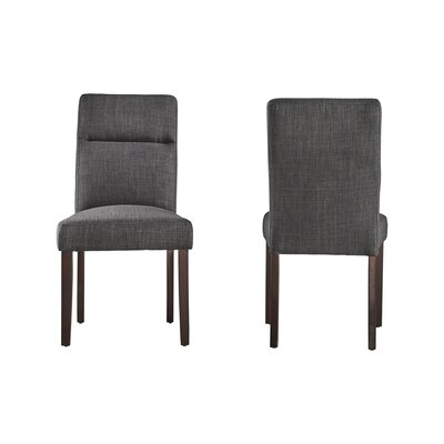 Eberhart Side Chair Finish: Dark Gray