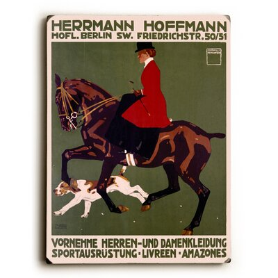 Berlin Horse Show Hunter Jumper Vintage Advertisement