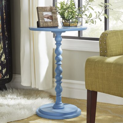 Ellicott End Table Color: Heritage Blue