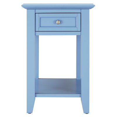 Ellicott End Table With Storage� Color: Heritage Blue