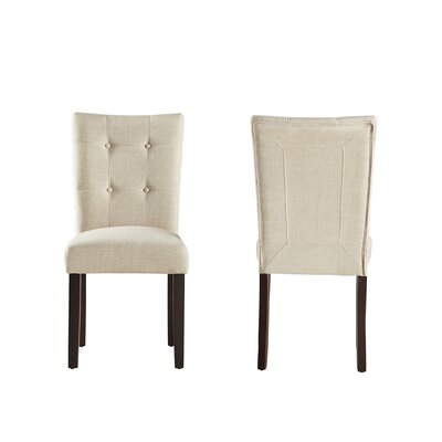 Dyer Side Chair Color: Beige