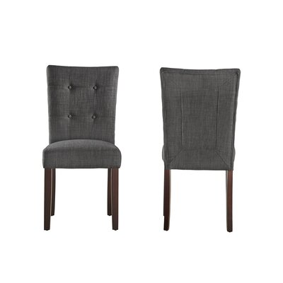 Dyer Side Chair Color: Dark Gray