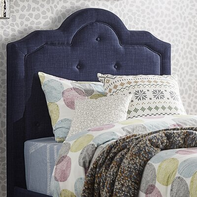 Bourbon Twin Upholstered Panel Headboard Upholstery: Twilight Blue