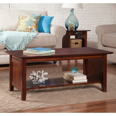 Orangetown Coffee Table Color: Walnut