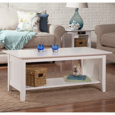 Image of Orangetown Coffee Table Color: White