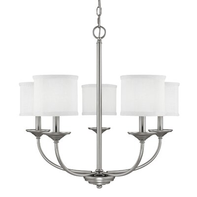 Thorpe 5 Light Drum Chandelier