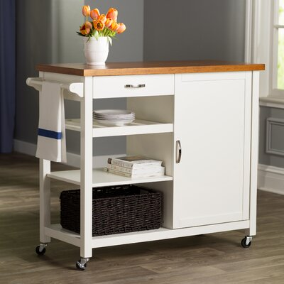 Hamdan Kitchen Cart