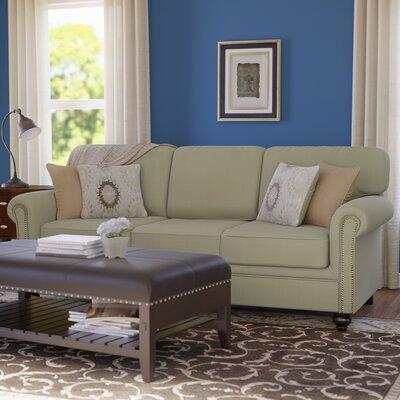 Serta Upholstery Caroll Sofa Upholstery: Hanover Bamboo / Sunflower / Hanover Barley