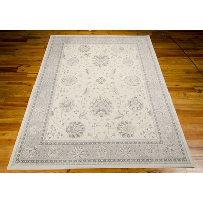 Lamarche Woven Ivory Area Rug Rug Size: 710 x 1010