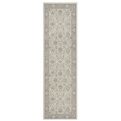 Lamarche Woven Ivory Area Rug Rug Size: Rectangle 53 x 74