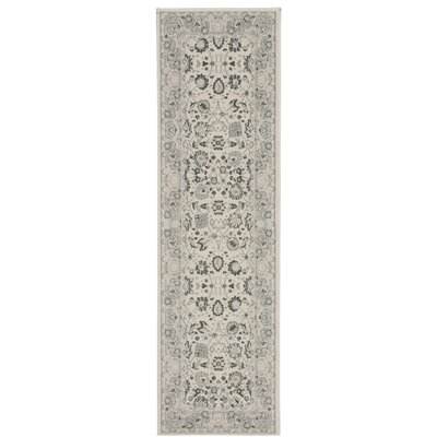Lamarche Ivory Area Rug Rug Size: Runner 22 x 76