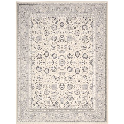 Lamarche Ivory Area Rug Rug Size: Rectangle 39 x 59