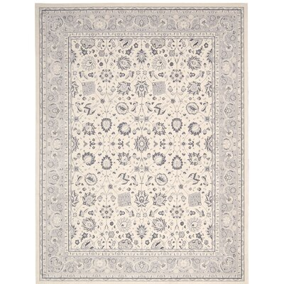 Lamarche Ivory Area Rug Rug Size: Rectangle 53 x 74