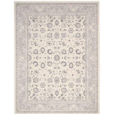 Lamarche Ivory Area Rug Rug Size: 710 x 1010