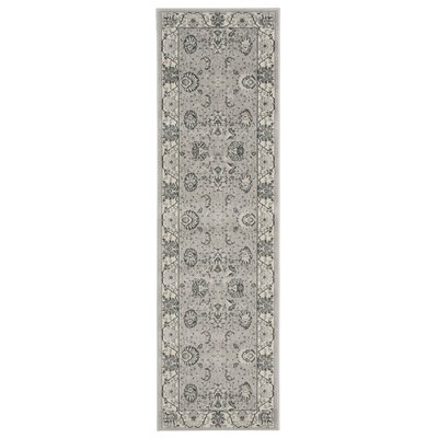 Lamarche Silver Area Rug Rug Size: Runner 22 x 76