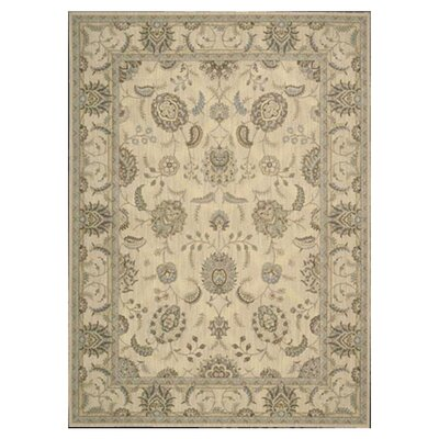Dowdell Ivory Area Rug Rug Size: Rectangle 96 x 13