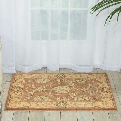 Dowdell Mocca Area Rug Rug Size: Rectangle 2 x 3